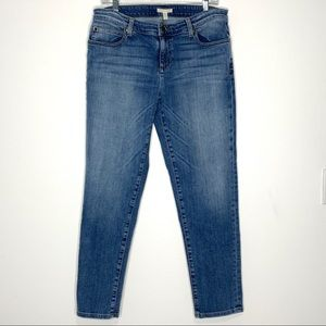 Eileen Fisher Organic Cotton Ankle Jeans Size 10